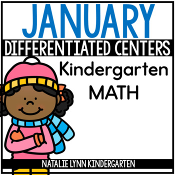 January Math Centers Kindergarten