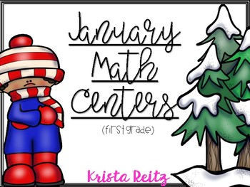 January Math Centers {Number Bonds, Time, Expanded Form, Base Ten}