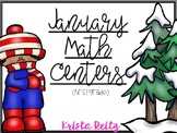 January Math Centers {Number Bonds, Time, Expanded Form, B