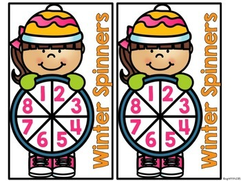 Kindergarten Math Centers for January