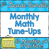 First Grade Math Tune-Ups Bundle