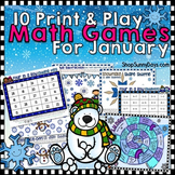 January Math Games - Print and Play!