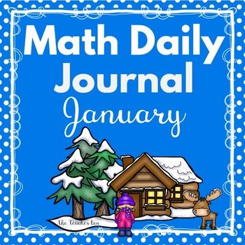 Kindergarten - Special Education -Math Daily Journal January