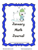 January Math Journal 28 pages to fit CCSS