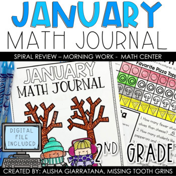 Math Journal January (2nd Grade)