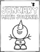January Math Journal (1st Grade)