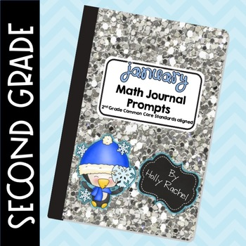 January Math Journal Prompts Second Grade