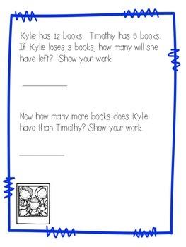 January Math Journal Second Grade