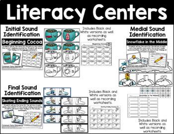 January Math & Literacy Activities Bundle