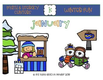 January Math & Literacy Center