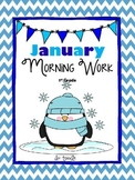 January Math & Literacy Morning/Home Work CSSS