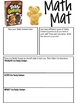 January Math Mat Collection:  ASSORTED FIVE PACK