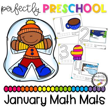 January Math Mats