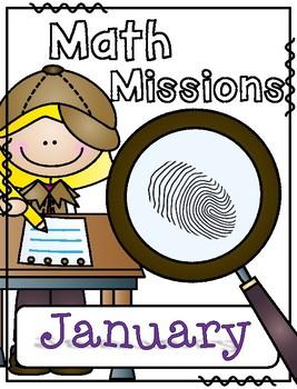 January Math Missions