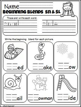 January No Prep Pack - 1st Grade