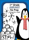 January No Prep Pack - 1st Grade