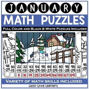 January Math Puzzles