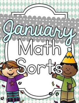January Math Sorts - CCSS Aligned for Grades K-2