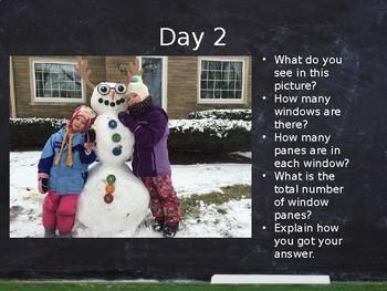 January Math Talks