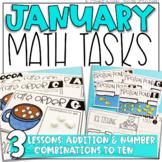 January Math Tasks