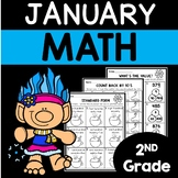 January Math Worksheets for 2nd Grade
