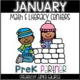 January: Math and Literacy Centers