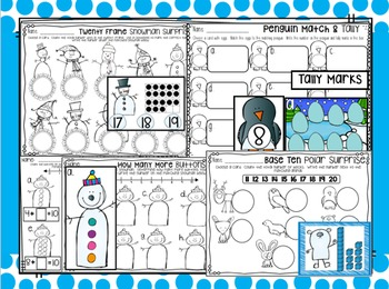 January Math and Literacy Centers {CCSS}