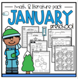 January Math and Literature Pack Preschool