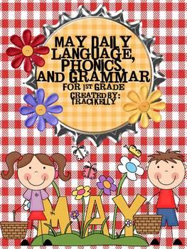 January-May Daily Language Arts, Phonics, Grammar for 1st Grade