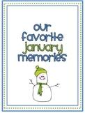January Memory Writing Prompt