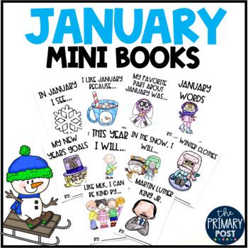 January Mini Books
