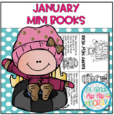 January Mini Books...Print, Fold, Read!