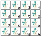 January Month themed Classroom Calendar Dates. Homeschool Bulletin Board Calen