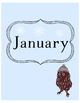 January Monthly Art Print