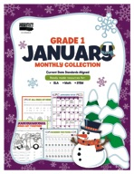 January Monthly Collection, Grade 1