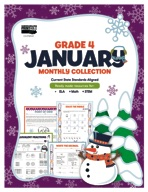 January Monthly Collection, Grade 4