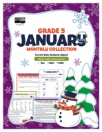 January Monthly Collection, Grade 5