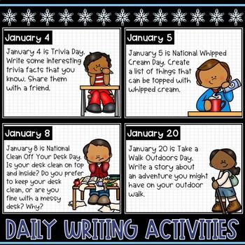 January Morning Activities