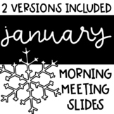 Social Distance   January Morning Meeting Slides