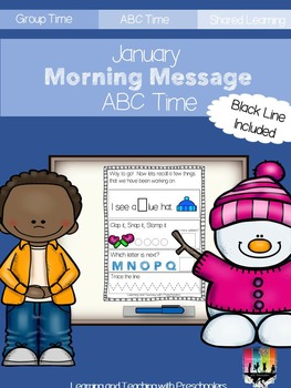 January Morning Message ABC Time