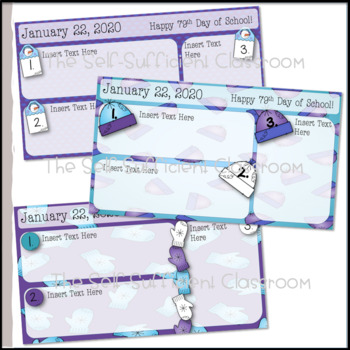 January Morning Message Slides~ EDITABLE!