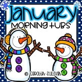 January Morning Tubs for Kindergarten