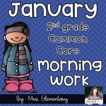 2nd Grade Common Core January Morning Work