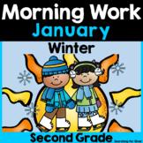 January Morning Work {2nd Grade}