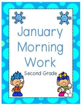 January Morning Work Second Grade