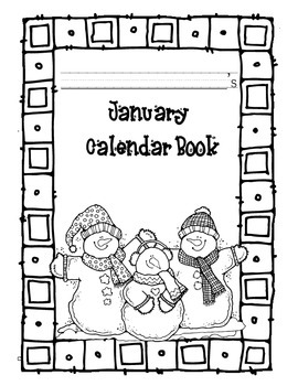 January Morning Work Book