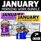 Morning Work January 2nd Grade