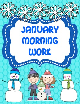 January Morning Work (Common Core Alligned)