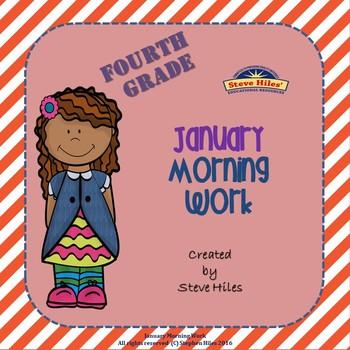 January Morning Work: Fourth Grade