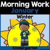 January Morning Work {Kindergarten}